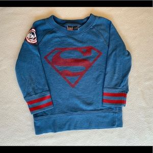 Boys Superman Sweatshirt